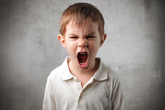 schreeuwend kind